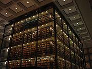 interior de la biblioteca
