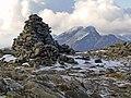 Beinn Dearg Mhor summit cairn - geograph.org.uk - 1029460.jpg