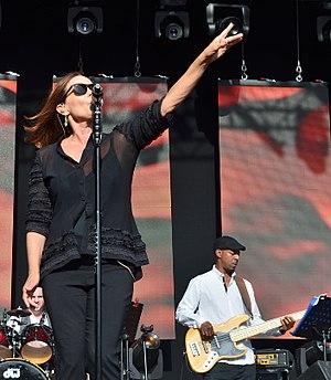 Belinda Carlisle - Carlisle performing in Bristol, England, 2014