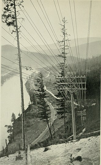 AT&T Communications - Line through western Montana, 1934
