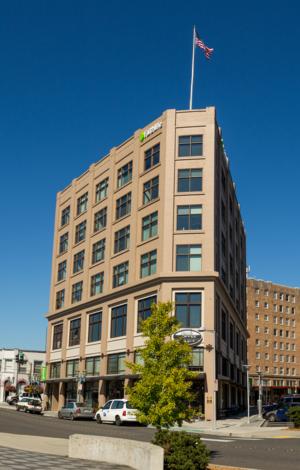 Faithlife Corporation - the Bellingham Flatiron Building and Faithlife's headquarters