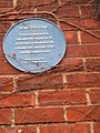 Bemisters Lane, wall plaque - geograph.org.uk - 389691.jpg