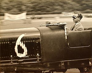 Pierre Maréchal -  Maréchal racing his Bentley