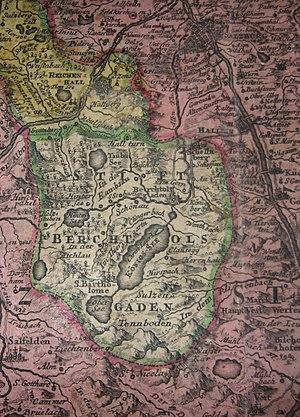 Berchtesgaden Provostry - Berchtesgaden, c. 1715