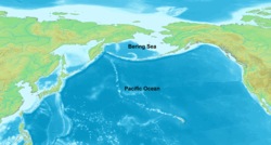 beringhavet kart Beringhavet – Wikipedia beringhavet kart