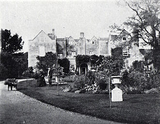 Berkhamsted Place - Berkhamsted Place photographed in 1860