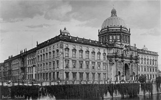 Berlin Palace - The Stadtschloss in the 1920s