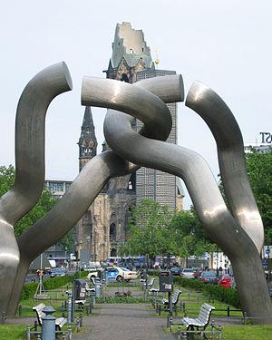 Berlin (sculpture) - Image: Berlin sculpture, Gedachtniskirche