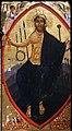 Berlinghiero berlinghieri, madonna col bambino e santi, lucca, 1230-40 ca. 04 cristo nella mandorla.jpg