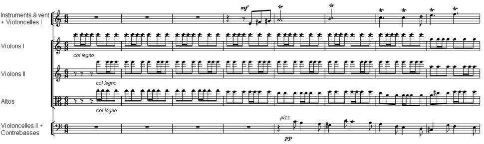 Berlioz - cordes col legno