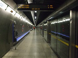 Bermondsey station eastbound look west.JPG