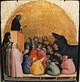 Bernardo daddi, miracolo di san pietro martire (scomparto di predella da sm novella), 1338, 01.JPG