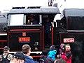 Beroun, Křivoklát expres (prosinec 2013), posádka lokomotivy.jpg