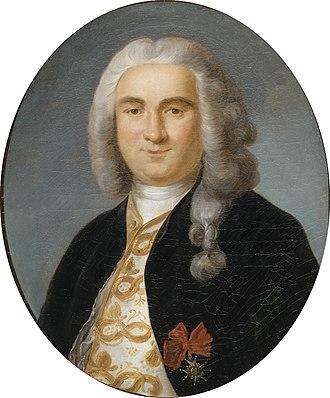 Bertrand-François Mahé de La Bourdonnais - Bertrand-François Mahé de La Bourdonnais, by Antoine Graincourt