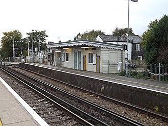 Berwick (Sussex) railway station - Image: Berwick railway station, October 2014 04