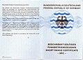 Beschränkt gültiges Funkbetriebszeugnis (Short Range Certificate, SRC).jpg