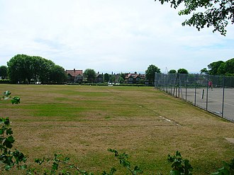 Brighton Hove & Sussex Sixth Form College - Playing fields