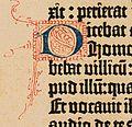 Biblia de Gutenberg, 1454 (Letra D) (21647592408).jpg