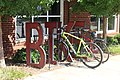 Bicycle rack next to Classic Center.jpg