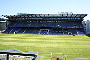 Arminia Bielefeld - The new eastern stand.