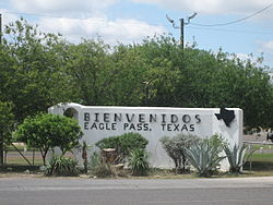 Eagle Pass, Texas.