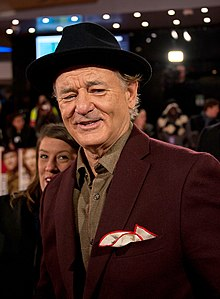 Bill Murray, Monuments Men premiere.jpg