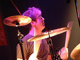 Bill Berry - Berry performing with R.E.M.