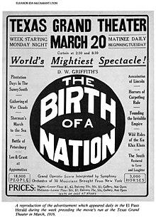 birth of a nation film analysis 1915