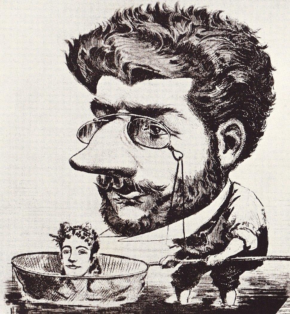 Bizet caricature 1863