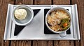 Blackberry and apple crumble at Black Horse Inn, Nuthurst West Sussex England 1.jpg