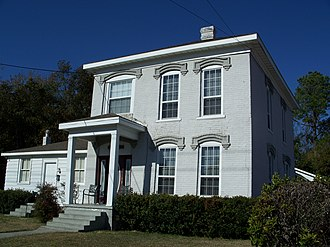 National Register of Historic Places listings in Suwannee County, Florida - Image: Blackwell House Live Oak 01