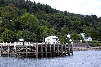 Blairmore, Argyll - Blairmore Pier