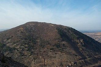Geology of Pennsylvania - Lehigh Gap from east peak