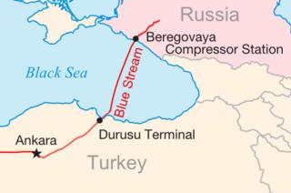 Blue Stream Trans-Black Sea gas pipeline