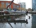 Boat at Gunwharf - geograph.org.uk - 1049644.jpg