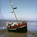 Boat on the mudflats - geograph.org.uk - 639154.jpg