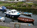 Boats in Blackwaterfoot Harbour, Isle of Arran - geograph.org.uk - 61007.jpg