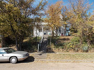 National Register of Historic Places listings in Crawford County, Arkansas - Image: Bob Burns House