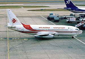 Babor Mountains - Image: Boeing 737 2T4 Adv, Air Algerie AN1116933