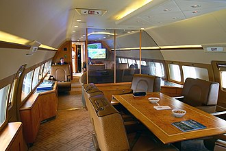 Boeing Business Jet - BBJ cabin