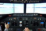 Boeing 737-800 Flugsimulator – CeBIT 2016 02.jpg