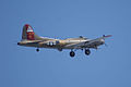 Boeing B-17G-85-DL Flying Fortress Nine-O-Nine Arrival Pass 12 CFatKAM 09Feb2011 (14983932495).jpg