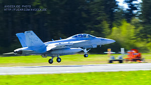VAQ-139 - VAQ-139 EA-18G at Naval Outlying Field Coupeville
