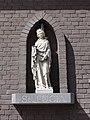 Boekel Rijksmonument 518256 beeld St.Lucia op gevel pastorie.JPG