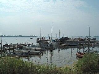 Bogø Island in the Baltic Sea
