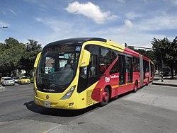 En Colombia los buses son convertibles