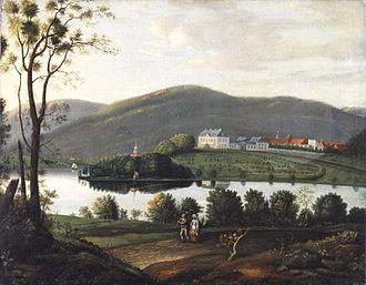 Bogstad - Bogstad gård by Frederik Petersen (ca. 1800)