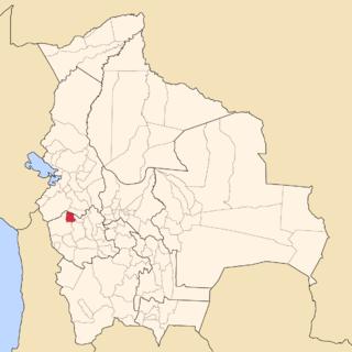 San Pedro de Totora Province Province in Oruro, Bolivia