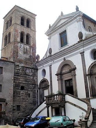 Bomarzo - Image: Bomarzo Chiesa di Santa Maria Assunta