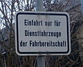 Bonn-Hochkreuz Johanna-Kinkel-Straße 3-5 Schild Bundestag (2).JPG